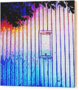 Location 54 North  A Shed Full Of Surprises Wood Print by Sir Josef - Social Critic - ART