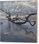Loch Ness Wood Print by Debra and Dave Vanderlaan