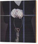 Locked-in Wood Print by Joana Kruse