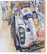 Lola Aston Martin Lmp1 Gulf Team 2009 Wood Print by Yuriy  Shevchuk