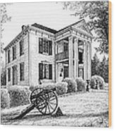 Lotz House Wood Print by Janet King