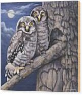 Loving You Wood Print by John Zaccheo
