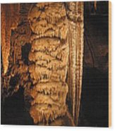 Luray Caverns - 1212122 Wood Print by DC Photographer