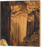 Luray Caverns - 121277 Wood Print by DC Photographer
