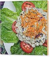 Macaroni Salad 1 Wood Print by Andee Design
