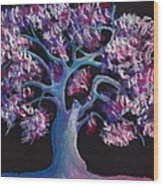 Magic Tree Wood Print by Anastasiya Malakhova