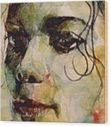 Man In The Mirror Wood Print by Paul Lovering