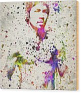 Manny Pacquiao Wood Print by Aged Pixel