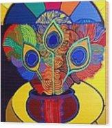 Mariantonia Wood Print by Jose Miguel Perez Hernandez
