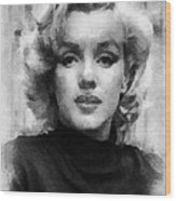 Marilyn Wood Print by Patrick OHare