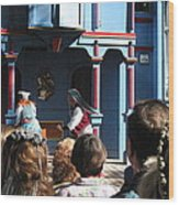 Maryland Renaissance Festival - A Fool Named O - 121221 Wood Print by DC Photographer