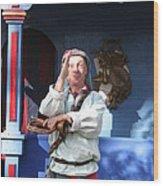 Maryland Renaissance Festival - A Fool Named O - 12125 Wood Print by DC Photographer