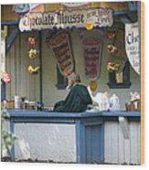 Maryland Renaissance Festival - Merchants - 121252 Wood Print by DC Photographer