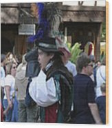 Maryland Renaissance Festival - People - 1212108 Wood Print by DC Photographer
