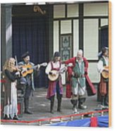 Maryland Renaissance Festival - People - 121257 Wood Print by DC Photographer