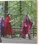 Maryland Renaissance Festival - People - 121289 Wood Print by DC Photographer