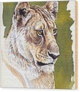 Massai Queen Wood Print by Aaron Blaise