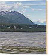 Matanuska Wood Print by Ron Bissett