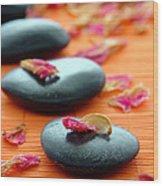 Meditation Zen Path Wood Print by Olivier Le Queinec