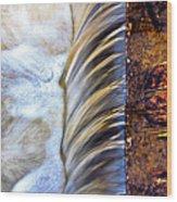 Zen Weir Wood Print by EXparte SE