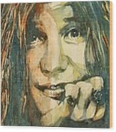 Mercedes Benz Wood Print by Paul Lovering