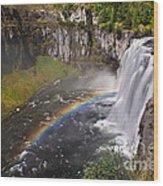 Mesa Falls Wood Print by Robert Bales