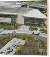 Microsoft Corporate Headquarter's West Campus Redmond Wa Wood Print by Andrew Buchanan via Latitude Image