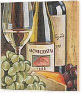 Mont Crystal 1988 Wood Print by Debbie DeWitt