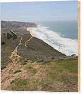 Montara State Beach Pacific Coast Highway California 5d22633 Wood Print by Wingsdomain Art and Photography