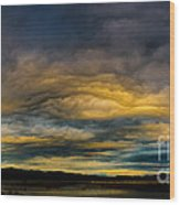 Morning Canvas Wood Print by Mitch Shindelbower