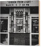 Movie Theater Wood Print by Rudy Umans