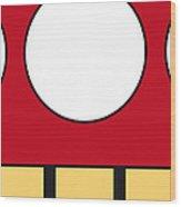 My Mariobros Fig 05a Minimal Poster Wood Print by Chungkong Art