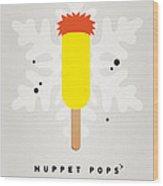 My Muppet Ice Pop - Beaker Wood Print by Chungkong Art