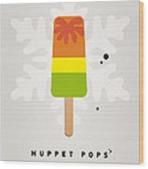 My Muppet Ice Pop - Scooter Wood Print by Chungkong Art