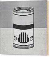 My Star Warhols Stormtrooper Minimal Can Poster Wood Print by Chungkong Art