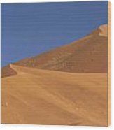 Namibian Desert Wood Print by Richard Garvey-Williams