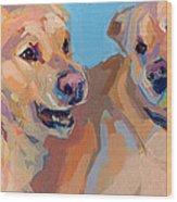Nana Nana Na Na Wood Print by Kimberly Santini