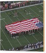 National Anthem Wood Print by Dan Sproul
