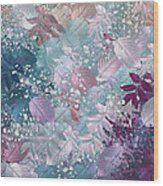 Naturaleaves - S1002b Wood Print by Variance Collections