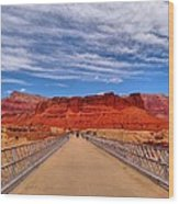 Navajo Bridge Wood Print by Dan Sproul