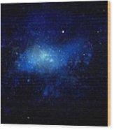 Nebula Ceiling Mural Wood Print by Frank Wilson