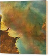 Nebula Cloud Wood Print by Jennifer Rondinelli Reilly - Fine Art Photography