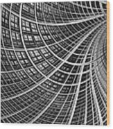 Network II Wood Print by John Edwards
