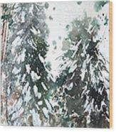 New England Landscape No.223 Wood Print by Sumiyo Toribe