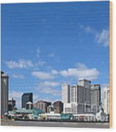 New Orleans Louisiana Wood Print by Olivier Le Queinec
