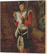 News From Home Wood Print by Sir John Everett Millais