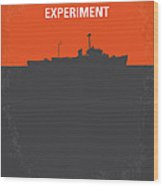 No126 My The Philadelphia Experiment Minimal Movie Poster Wood Print by Chungkong Art