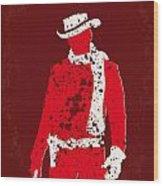 No184 My Django Unchained Minimal Movie Poster Wood Print by Chungkong Art