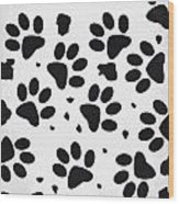 No229 My 101 Dalmatians Minimal Movie Poster Wood Print by Chungkong Art