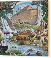 Noahs Ark - The Homecoming Wood Print by Steve Crisp